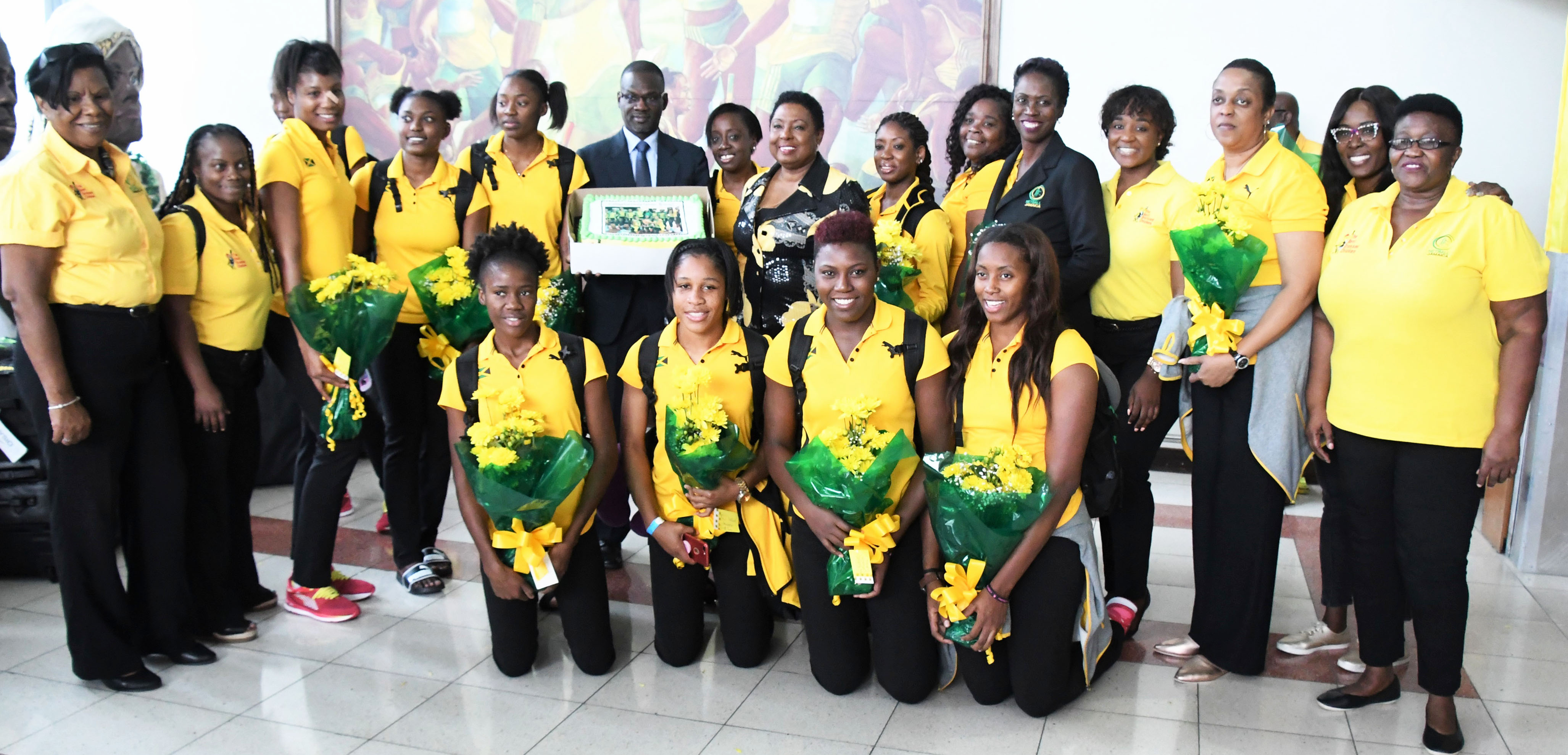 Grange-welcomes-netball-team